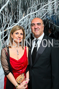 Photo by Tony Powell. The 2010 Opera Ball. Russian Federation. May 21, 2010. Fariba and Reza Jahanbani