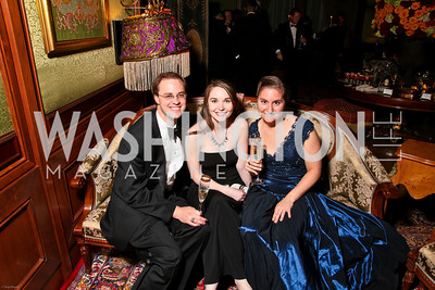 Photo by Tony Powell. The 2010 Opera Ball. Russian Federation. May 21, 2010. Richard and Christiane Boles, Catherine Zadoretzky