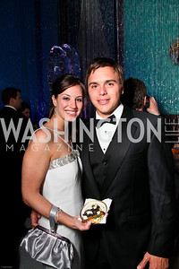Photo by Tony Powell. The 2010 Opera Ball. Russian Federation. May 21, 2010. Erin Kruse, Alex Perkins