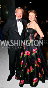 Photo by Tony Powell. The 2010 Opera Ball. Russian Federation. May 21, 2010. John and Antonia Gore