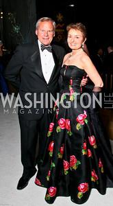 Photo by Tony Powell. The 2010 Opera Ball. Russian Federation. May 21, 2010. John and Antonia Gore