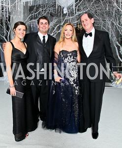Photo by Tony Powell. The 2010 Opera Ball. Russian Federation. May 21, 2010. Kate McCaffery, Max Lehrman, Susan and Samuel Lehrman
