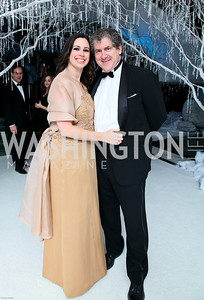 Photo by Tony Powell. The 2010 Opera Ball. Russian Federation. May 21, 2010. Aimee and Robert Lehrman