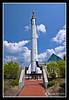 Mercury-Redstone Rocket at McAuliffe-Shepard Discovery Center