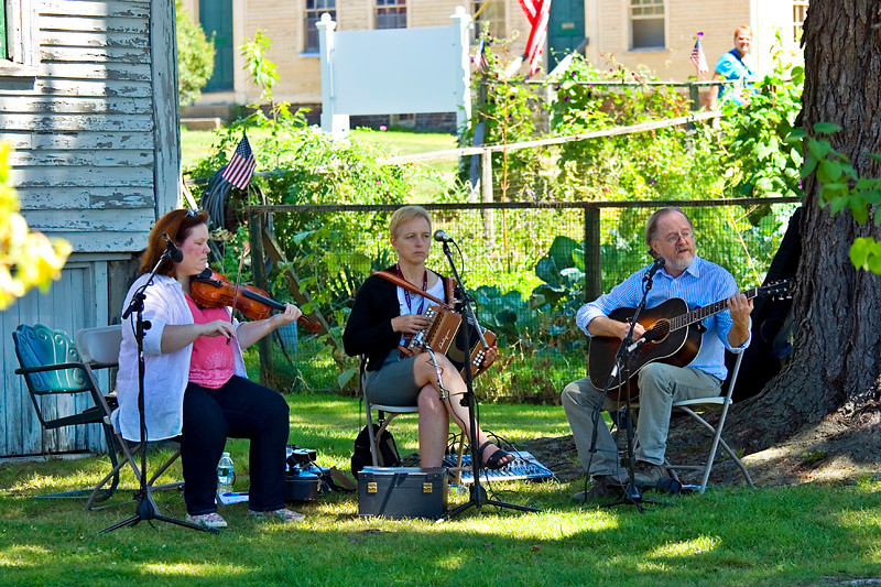 Celtic Band Ballymac at Strawbery Banke outdoor history museum
