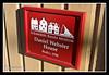 Daniel Webster Sign Strawbery Banke outdoor history museum