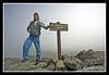 Michael on top of MT Washington Summit