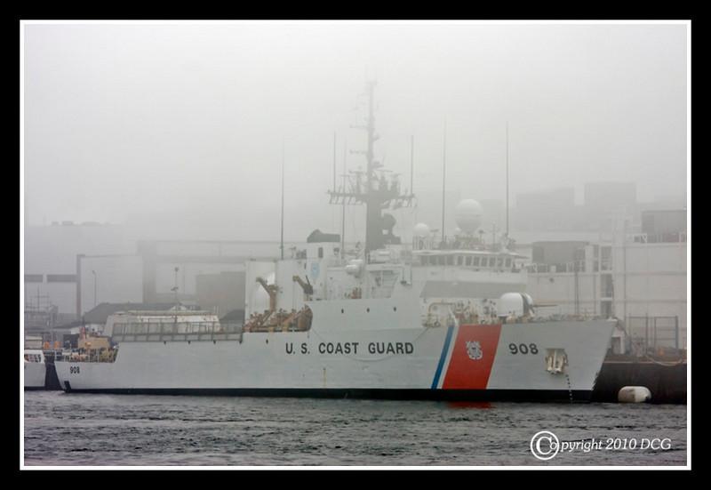 USCGC TAHOMA docked at Portsmouth Naval Shipyard