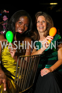 Michele Langevine Leiby, Jayne Wise. 2010 Wolf Trap Ball- Canada Keep Exploring. Photos by Alfredo Flores