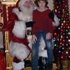 Santa visit at Parade of Trees