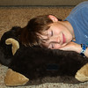 JD's Birthday - Love the Bear Pillow