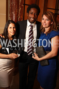 Mari Villarobos, D.C. United soccer player Clyde Simms, Katri Hunter