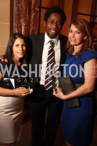 Mari Villarobos, D.C. United soccer player Clyde Simms, Katri Hunter