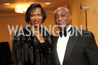 Anita Smith, Jim Short. Photo by Alfredo Flores. 30th Annual Kidney Ball benefitting the National Kidney Foundation at Washington Hilton.