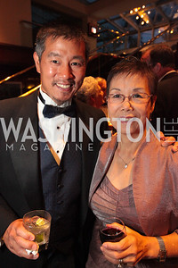 Gary Pan, Karen Kan. The 32nd Annual Ambassadors Ball. Photos by Alfredo Flores.