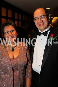 Estella Gauto, Ambassador RIgoberto Gauto of Paraguay. The 32nd Annual Ambassadors Ball. Photos by Alfredo Flores.