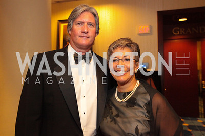 Mark Bain, Tina Bain. The 32nd Annual Ambassadors Ball. Photos by Alfredo Flores