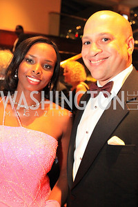 Ambassador La Celia Prince of St. Vincent and the Grenadines, Harold Doley III. The 32nd Annual Ambassadors Ball. Photos by Alfredo Flores.