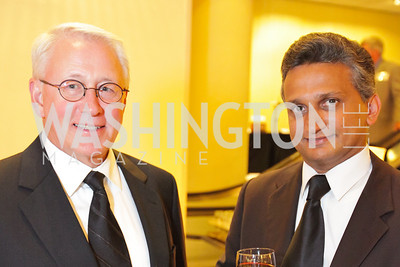 Gordon Johnston, Ganesh Venkafaraman. The 32nd Annual Ambassadors Ball. Photos by Alfredo Flores