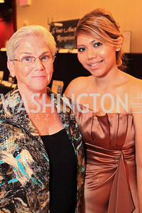 Mary Ann Emberson, Yupa Nyunt. The 32nd Annual Ambassadors Ball. Photos by Alfredo Flores