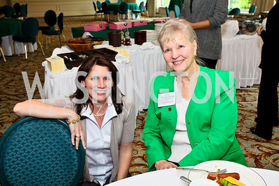 Photo by Tony Powell. Hole in One for Cornerstone Kids Golf Tournament. Kenwood. May 17, 2010. Brandi Laperriere, Carolyn Meakem