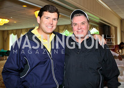 Photo by Tony Powell. Hole in One for Cornerstone Kids Golf Tournament. Kenwood. May 17, 2010. Bret Baier, Jack Quinn