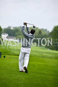 Photo by Tony Powell. Hole in One for Cornerstone Kids Golf Tournament. Kenwood. May 17, 2010. Kevin McDonnell