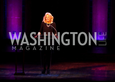Photo by Tony Powell. Dr. Jill Biden. A Standing Ovation for Teachers. Kennedy Center. November 1, 2010