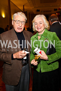 Photo by Tony Powell. Alan and Irene Wurtzel. A Standing Ovation for Teachers. Kennedy Center. November 1, 2010
