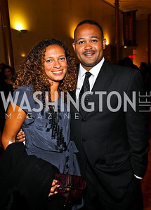 Photo by Tony Powell. Lori and Ben Soto. A Standing Ovation for Teachers. Kennedy Center. November 1, 2010