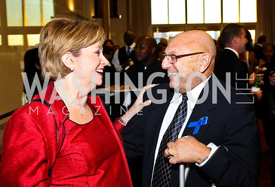 Photo by Tony Powell. Ann and Frank Scotti. A Standing Ovation for Teachers. Kennedy Center. November 1, 2010