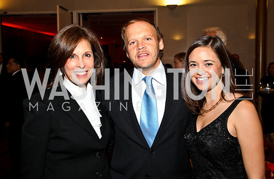 Photo by Tony Powell. Beth Dozoretz, Mark Ein, Sally Stiebel. A Standing Ovation for Teachers. Kennedy Center. November 1, 2010