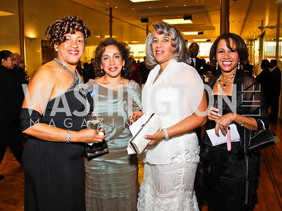 Photo by Tony Powell. Janice Neita, Deborah Flanagan, Sandy Montgomery, Grace Reid. A Standing Ovation for Teachers. Kennedy Center. November 1, 2010