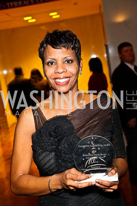 Photo by Tony Powell. Roaenetta Browne. A Standing Ovation for Teachers. Kennedy Center. November 1, 2010