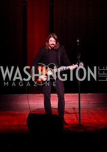 Photo by Tony Powell. Dave Grohl. A Standing Ovation for Teachers. Kennedy Center. November 1, 2010