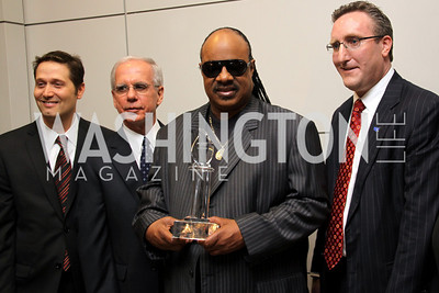Mitch Glazier, Tony Coehlo, Stevie Wonder, Andy Imparato