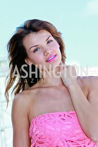 Miss Florida 2008 Jessica Rafalowski. Photo by Tony Powell. AMG Miami Beach Polo World Cup VI. South Beach. April 24 & 25, 2010
