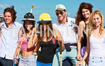La Martina fashion models. Photo by Tony Powell. AMG Miami Beach Polo World Cup VI. South Beach. April 24 & 25, 2010