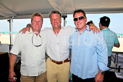 Brent Taylor, Craig Pirtle, Doug Bayer. Photo by Tony Powell. AMG Miami Beach Polo World Cup VI. South Beach. April 24 & 25, 2010