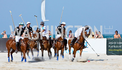 Photo by Tony Powell. AMG Miami Beach Polo World Cup VI. South Beach. April 24 & 25, 2010