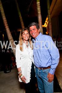 Tammy and Juan Salinas-Bentley. Photo by Tony Powell. AMG Miami Beach Polo World Cup VI. South Beach. April 24 & 25, 2010