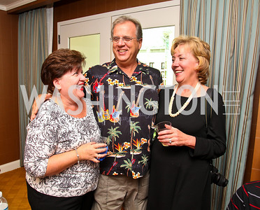Photo by Tony Powell. Melanie, Milton, and Diane Cadenhead. Abbey Road on the River/Lynni Megginson Birthday Party. Gaylord Hotel. August 5, 2010