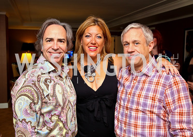 Photo by Tony Powell. Ernesto Santalla, Lynni Megginson, Glen Ackerman. Abbey Road on the River/Lynni Megginson Birthday Party. Gaylord Hotel. August 5, 2010