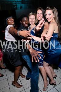 Tamika Joyner, Brooklyn Mack, Katrina Toews, Stacey Miller, Sara Lange. after dark @ THEARC. April 10, 2010. Photo by Tony Powell