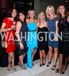 Asako Wong, Anna Trone, Jean Marie Fernandez, Maureen Curley, Shari Kapelina, Pam Taylor. after dark @ THEARC. April 10, 2010. Photo by Tony Powell
