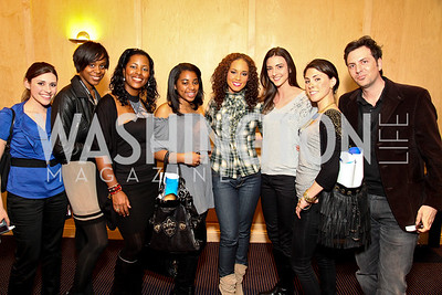 Tara Palmeri, NEED, Cynthia Anderson, Sierra Vinson, Alicia Keys, Kate Michael, Madeline Starkey, Michael Clements. Photo by Tony Powell