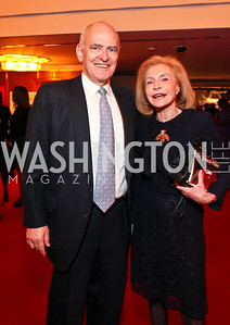 Guido Goldman and Jacqueline Leland. Alvin Ailey Gala. The Kennedy Center. February 2, 2010. photos by Tony Powell