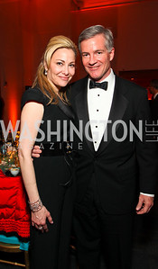 Wendy Bloch and Jeff Nuechterlein. Alvin Ailey Gala. The Kennedy Center. February 2, 2010. photos by Tony Powell