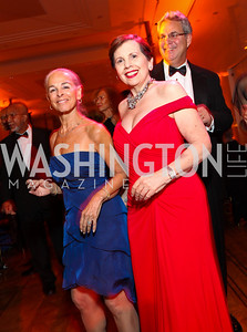 Ailey Executive Director Sharon Gersten Luckman and Adrienne Arsht. Alvin Ailey Gala. The Kennedy Center. February 2, 2010. photos by Tony Powell