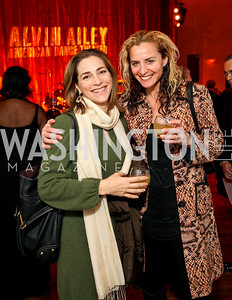 Rachel Goslins and Ami Aronson. Alvin Ailey Gala. The Kennedy Center. February 2, 2010. photos by Tony Powell